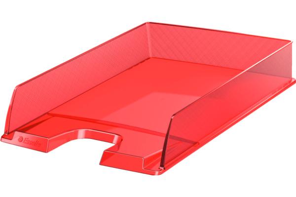 ESSELTE Briefkorb Europost A4 623601 rot transparent