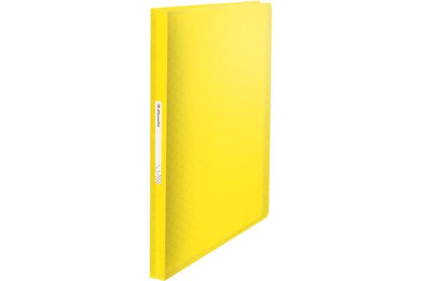 ESSELTE Sichtbuch 80 Hüllen A4 626235 Colour´Ice, gelb
