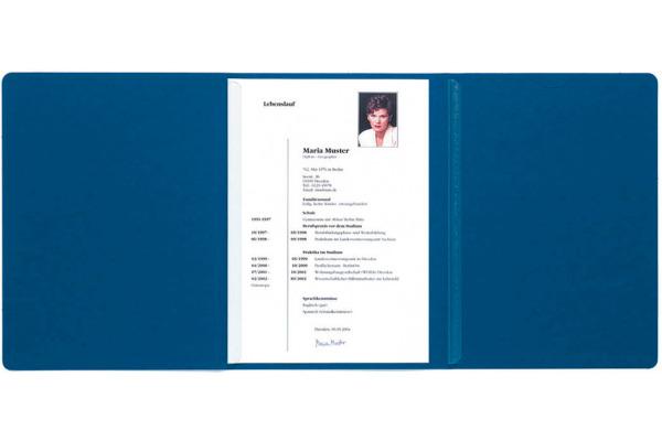EXACOMPTA Bewerbungsmappe A4 49752B blau 3-teilig