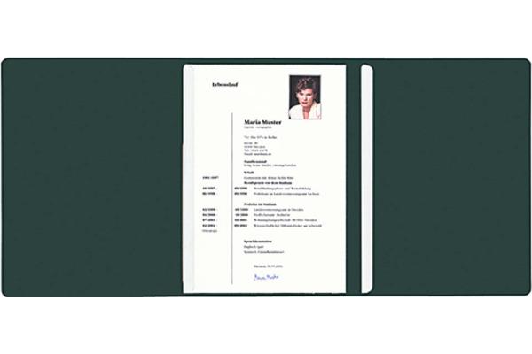 EXACOMPTA Bewerbungsmappe A4 49753B grün 3-teilig