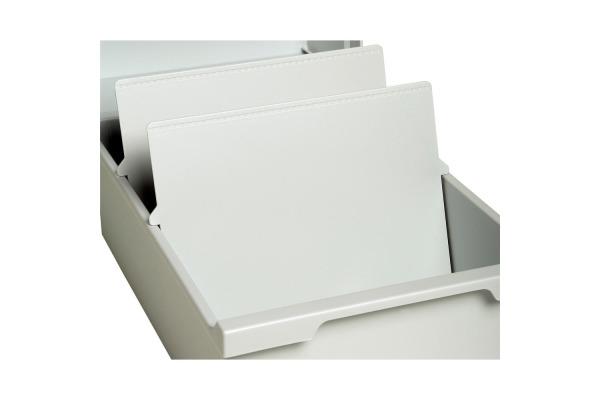 EXACOMPTA Trennplatten A5 54340D 2 Stück