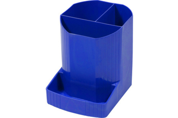 EXACOMPTA Stifteköcher Mini-Octo 675101D blau 123x90x110mm