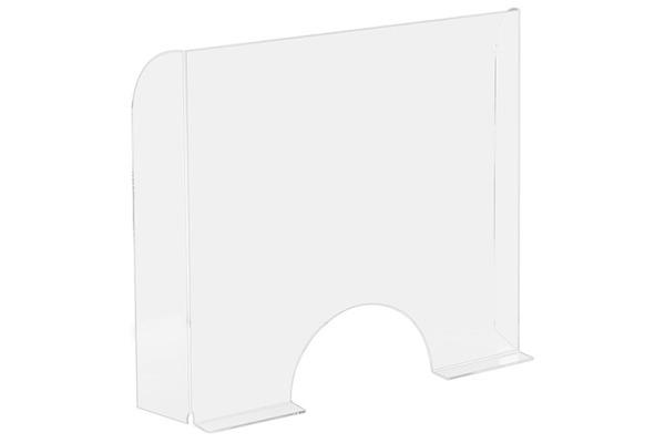 EXACOMPTA Hygienewand Exascreen 80058D Acrylglass Stand-alone 95x68cm