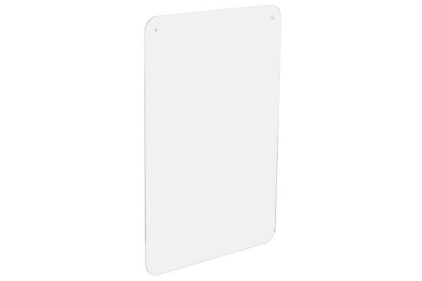 EXACOMPTA Hygienewand Exascreen 80258D Acrylglass o. Fenster 100x66cm