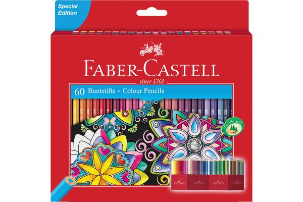 FABER-CASTELL Farbstifte Castle 111260 60er Set