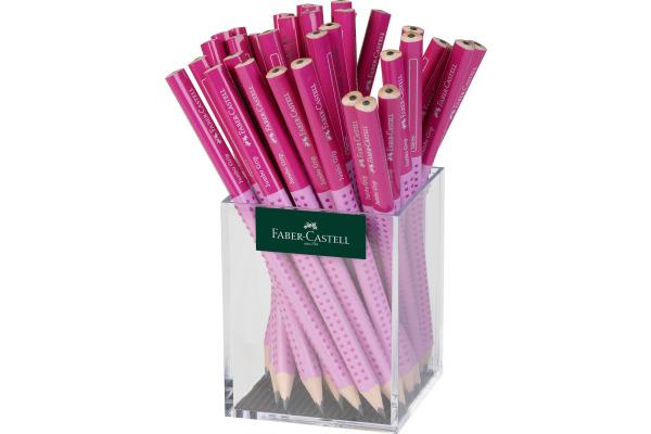 FABER-CASTELL Bleistift Jumbo Grip B 111933 pink rosa 36...