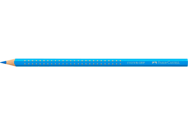 FABER-CASTELL Farbstift Colour Grip 112427 neon blau