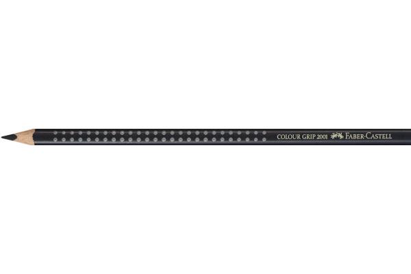 FABER-CASTELL Farbstifte Colour Grip 112499 schwarz