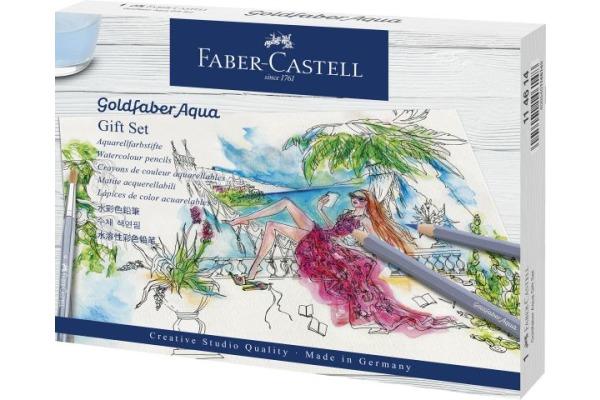 FABER-CASTELL Goldfaber Aquarellstift Set 114614...