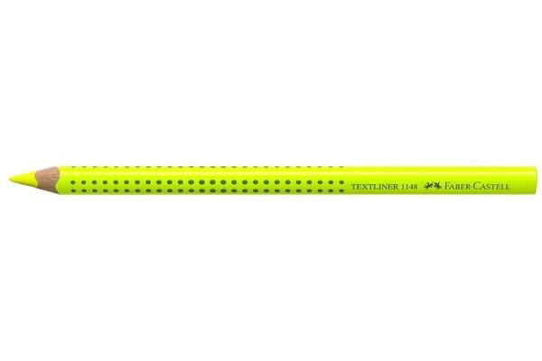 FABER-CASTELL Textliner Jumbo Grip 5mm 114807 gelb