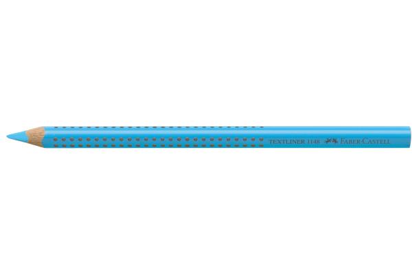 FABER-CASTELL Textliner Jumbo Grip 5mm 114851 blau