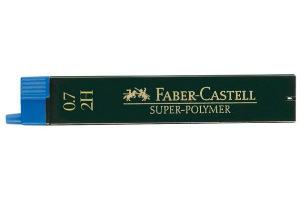 FABER-CASTELL Minen 2H 120712 0,7mm 12 Stück