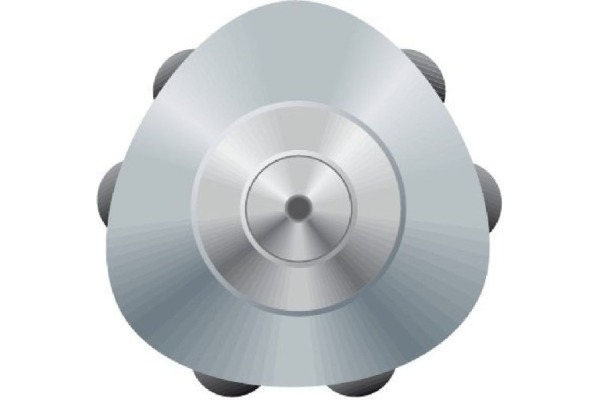 FABER-CASTELL Druckkugelschr.GRIP 2011 M 144187 schwarz matt 0.7mm