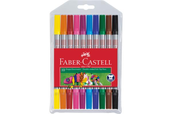 Filzstift Jumbo Connector Pen 6er Etui Faber-Castell 155208