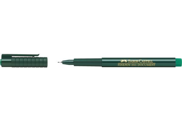 FABER-CASTELL Faserschreiber FINEPEN 1511 0.4mm 151163...