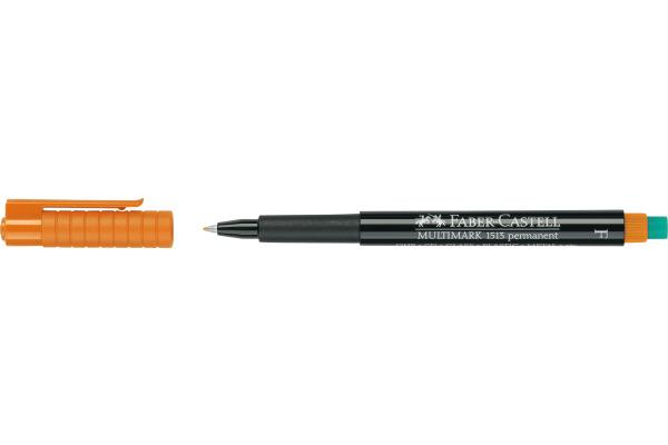 FABER-CASTELL OHP MULTIMARK permit F 151315 orange