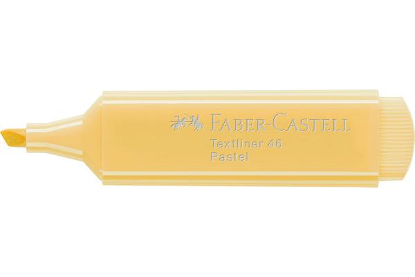 FABER-CASTELL Textliner Pastell 46 1/2/5mm 154667 vanille