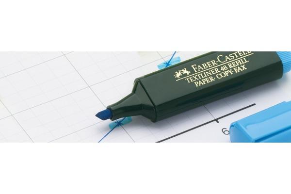 FABER-CASTELL Textmarker Textliner 48 154804 4-farbig assortiert