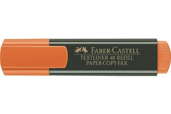 FABER-CASTELL TEXTLINER 48 1-5mm 154815 orange