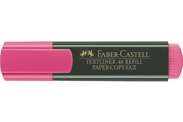 FABER-CASTELL TEXTLINER 48 1-5mm 154828 rosa