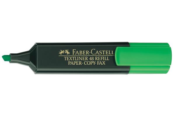 FABER-CASTELL TEXTLINER 48 1-5mm 154863 grün