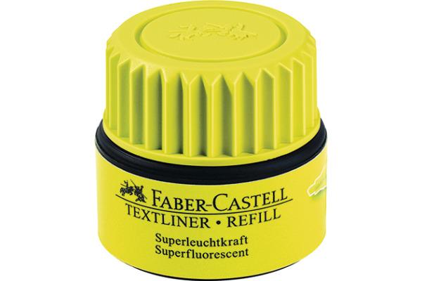 FABER-CASTELL Textmarker 1549 Refill 154907 gelb