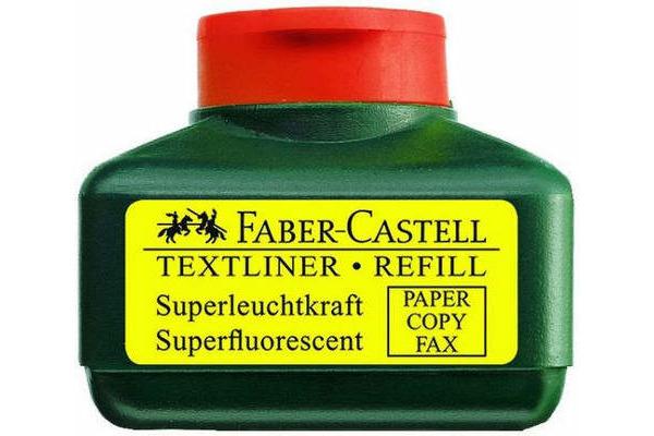 FABER-CASTELL Textmarker 1549 Refill 154915 orange