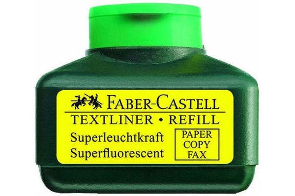 FABER-CASTELL Textmarker 1549 Refill 154963 grün