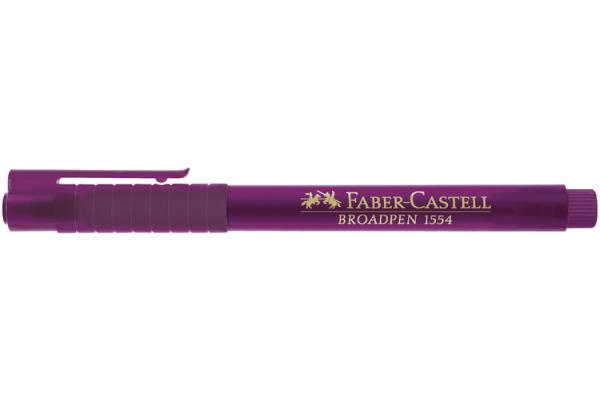 FABER-CASTELL Fineliner Broadpen 1554 0.8mm 155437 magenta