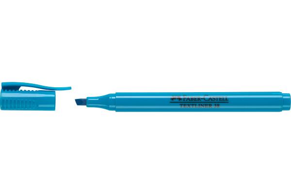 FABER-CASTELL Textmarker 38 1-4mm 157751 blau