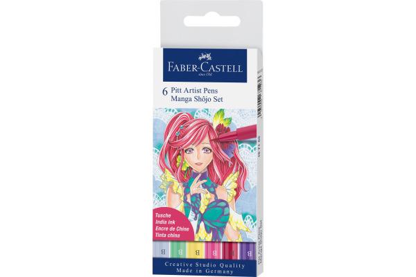 FABER-CASTELL Pitt Artist Pen Manga Shôjo...