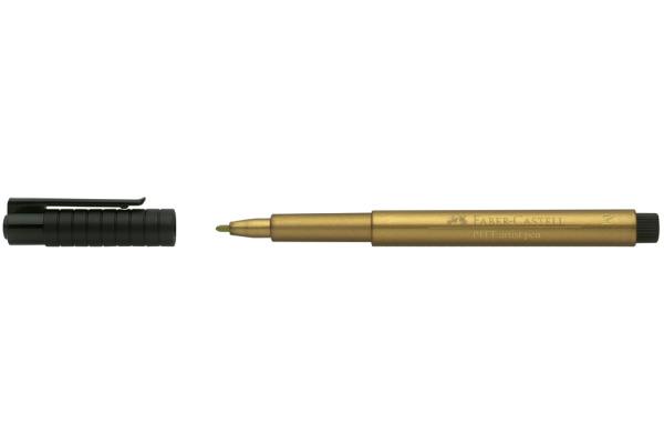 FABER-CASTELL Pitt Artist Pen 1,5mm 167350 gold