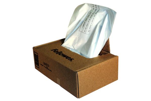 FELLOWES Abfallsäcke Aktenvernichter 36053 100 Stück