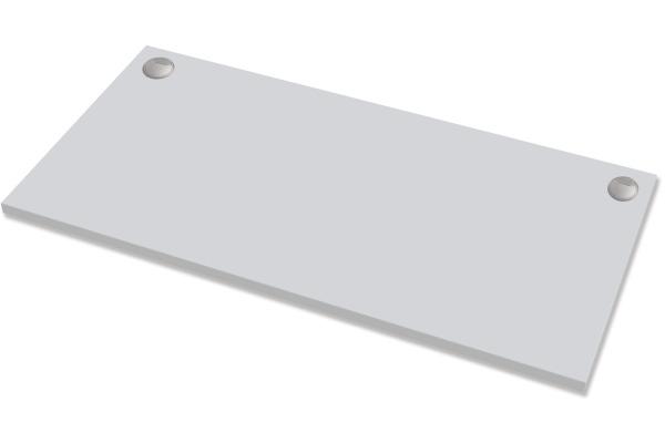 FELLOWES Levado Tischplatte 9870301 1400mm x 800mm Hellgrau