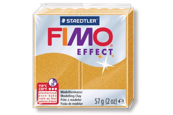 FIMO Modelliermasse effect 8020-11 Metallic gold 57g