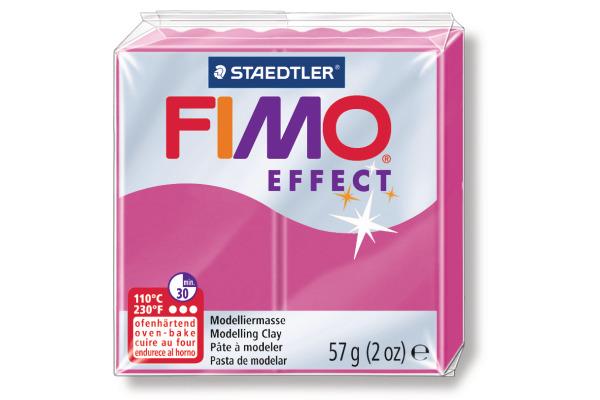 FIMO Modelliermasse soft 8020-286 Edelstein rubin-quarz 57g