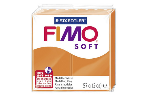 FIMO Knete Soft 57g 8020-42 mandarine