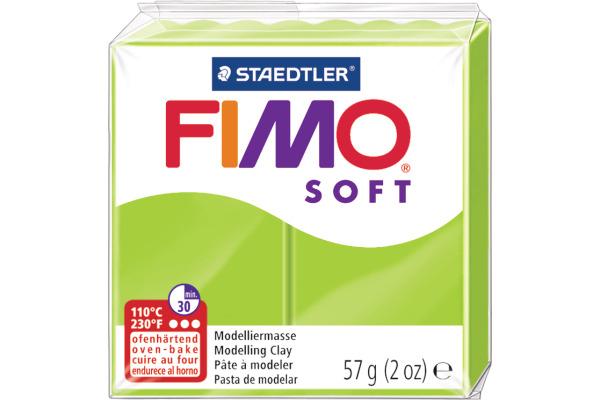 FIMO Knete Soft 57g 8020-50 grün