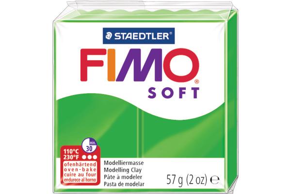 FIMO Knete Soft 57g 8020-53 grün