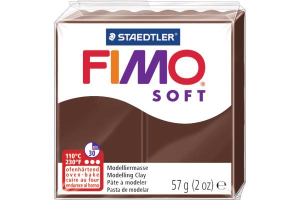 FIMO Knete Soft 57g 8020-75 schoko
