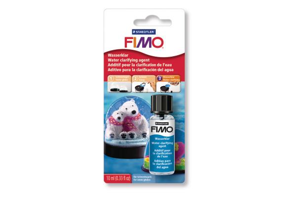 FIMO Wasserklar f.Schneekugel 10ml 8603BK Pinsel und Deckel