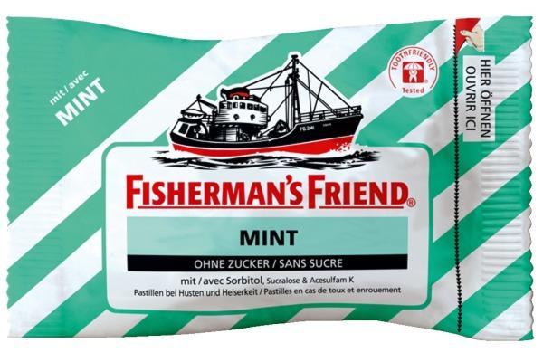FISHERMAN Bonbons 7608 Mint 25g