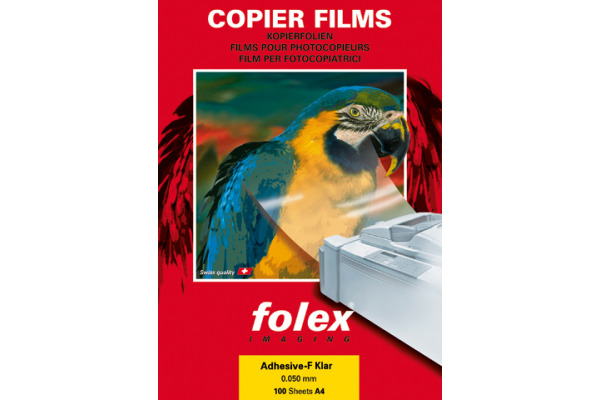 FOLEX Folie A4 26230440 transparent 100 Blatt