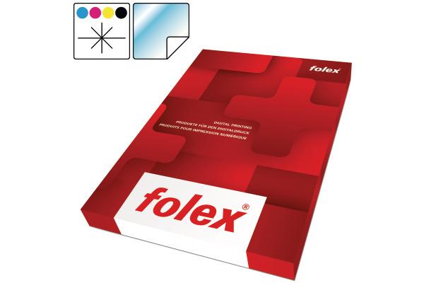 FOLEX Laserfolie CLP A4 2999W.050.44 selbstklebend 50 Folien