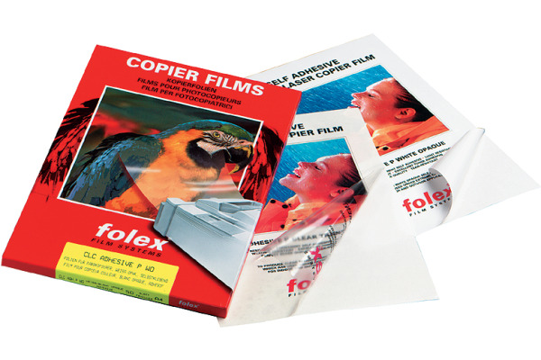 FOLEX Farbkopierer-Folie A4 33580.100 100my 100 Blatt