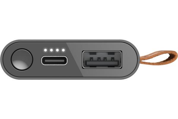 FRESHN R Powerbank 3000 mAh 2PB3000SG USB-C Storm Grey