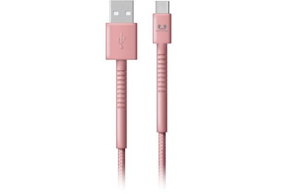 FRESH´N R USB-C Fabriq cable 1.5m 2UCC150DP Dusty Pink