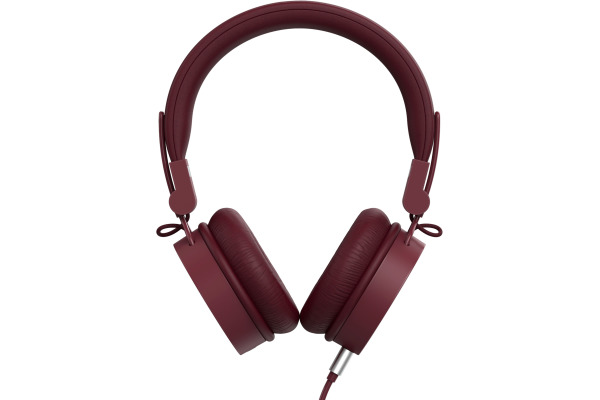 FRESH´N R Caps 2 on-ear headphones 3HP120RR Ruby Red