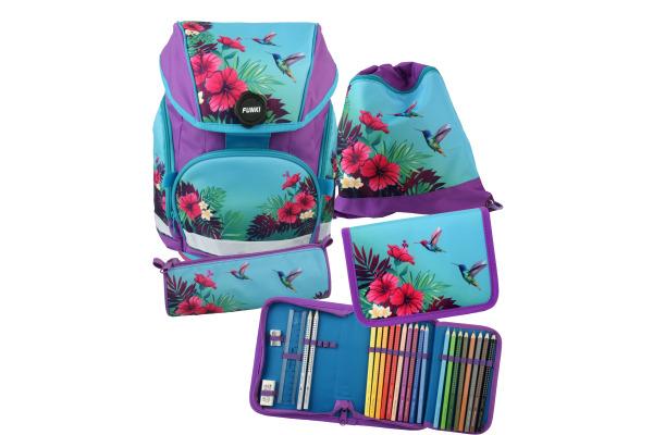 FUNKI Joy-Bag Set Tropical 6011.511 multicolor 4-teilig