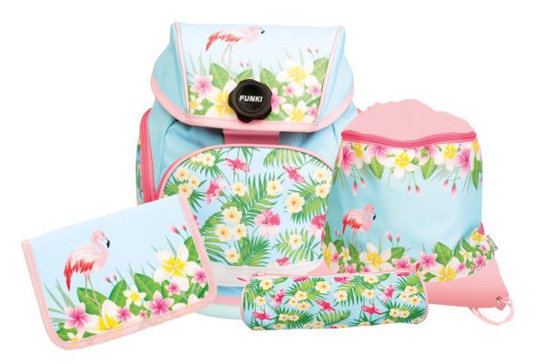FUNKI Joy-Bag Set 6011.516 Flamingo, 4-teilig